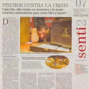 Pinchos Contra La Crisis | El Mundo