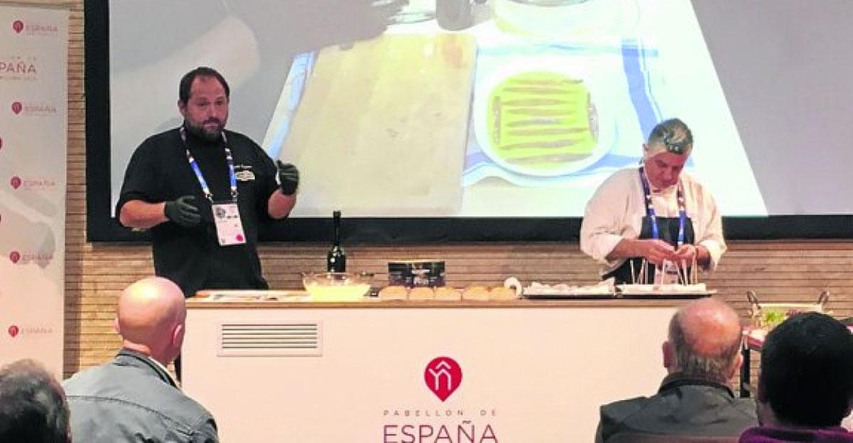 Nuestro Chef, Joseba Guijarro presente en la Expo de Milan representando a Cantabria